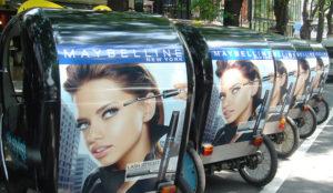 ベロタクシー広告